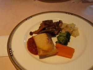 コース料理は最高の味でした。