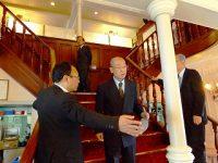 琵琶湖汽船営業部長も要望に応えて頂いております。