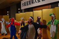 キャラクターダンスで大いに賑わいました。